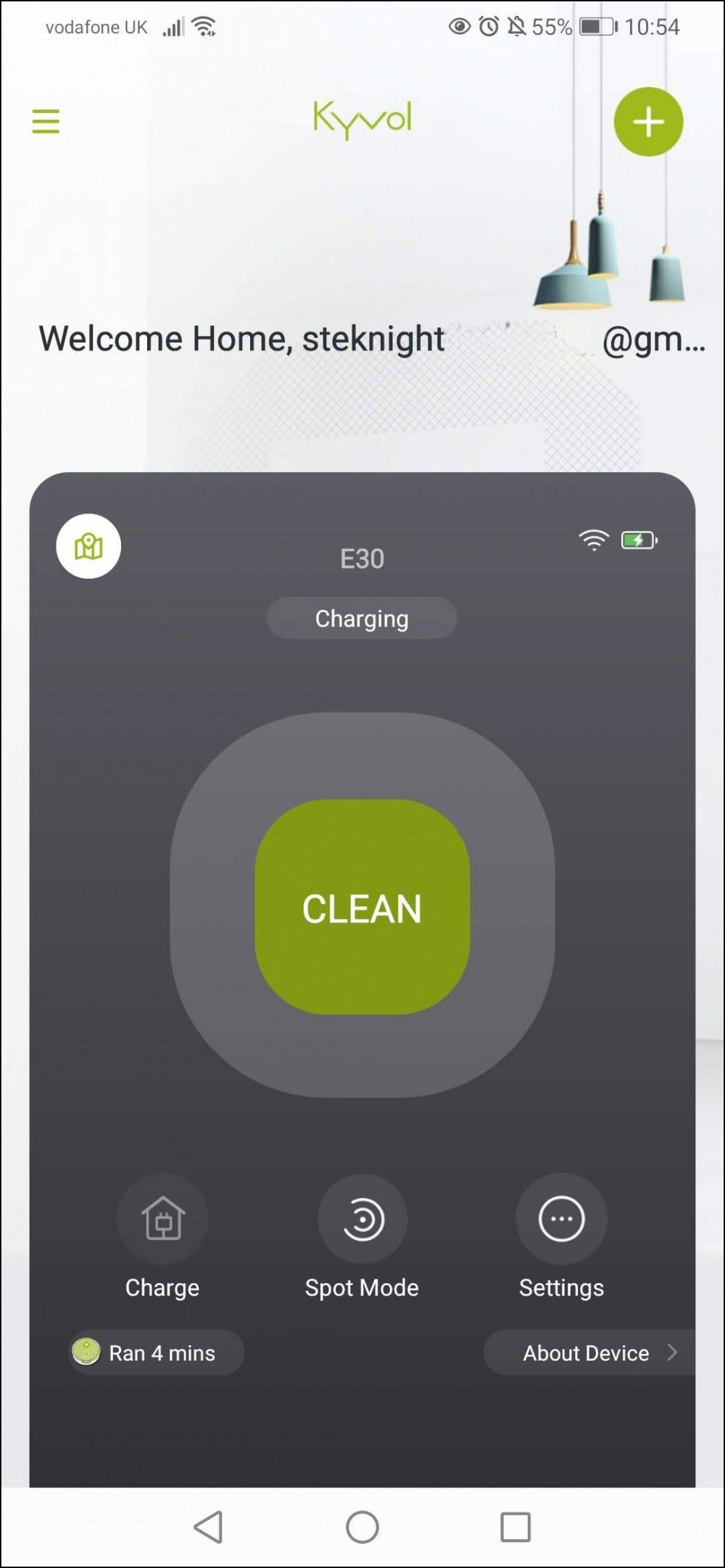 E30 app soft controls