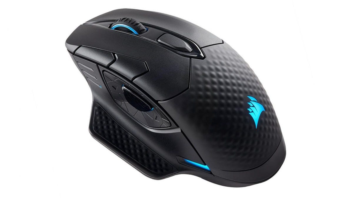 a8c91400784 Best Gaming Bluetooth Mouse: Corsair Dark Core RGB ($80)