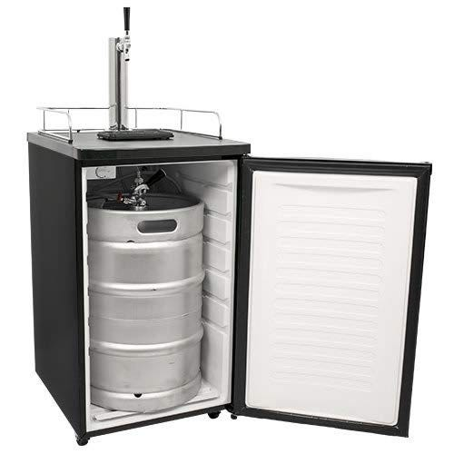 A kegerator gives you a perfect bar-style pour, chilled beer, and a full keg capacity at home.