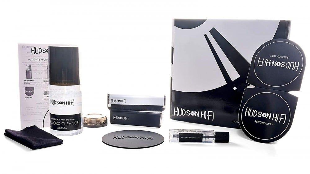Hudson Hi-Fi record cleaning kit