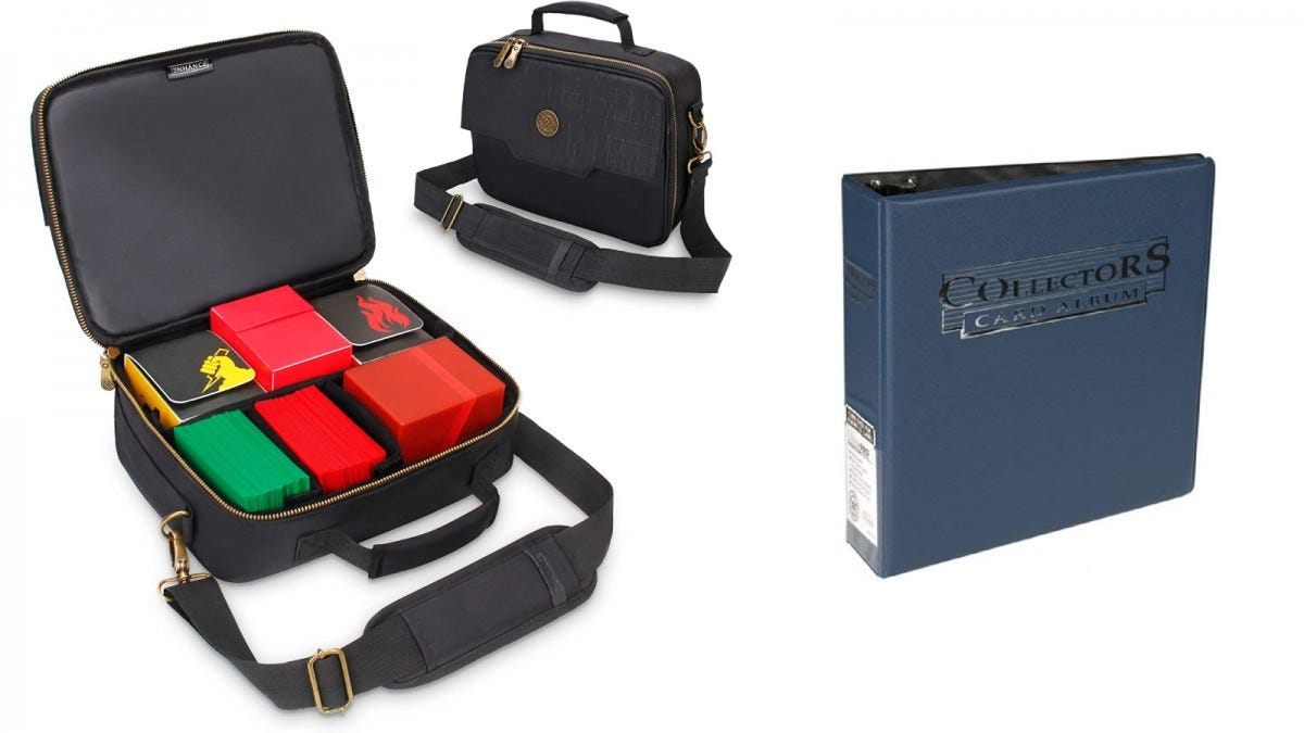 Enhance Storage Bag Case and Ultra Pro Storage Binder