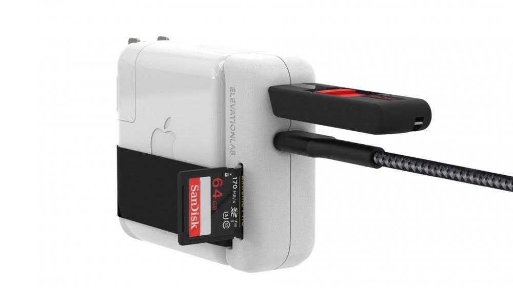 EvolutionHub MacBook charger add-on