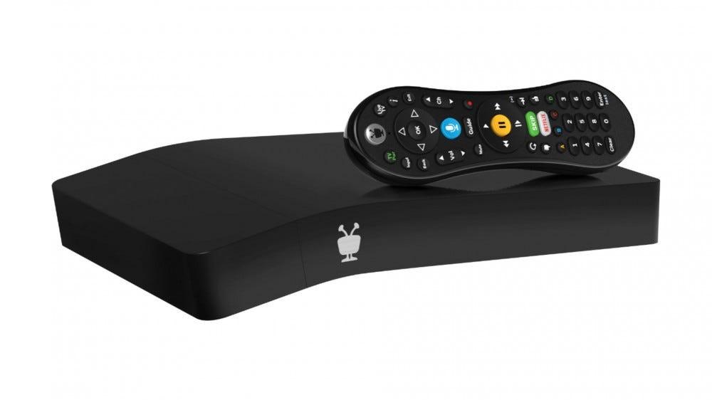 A photo of the TiVo Bolt OTA Box.