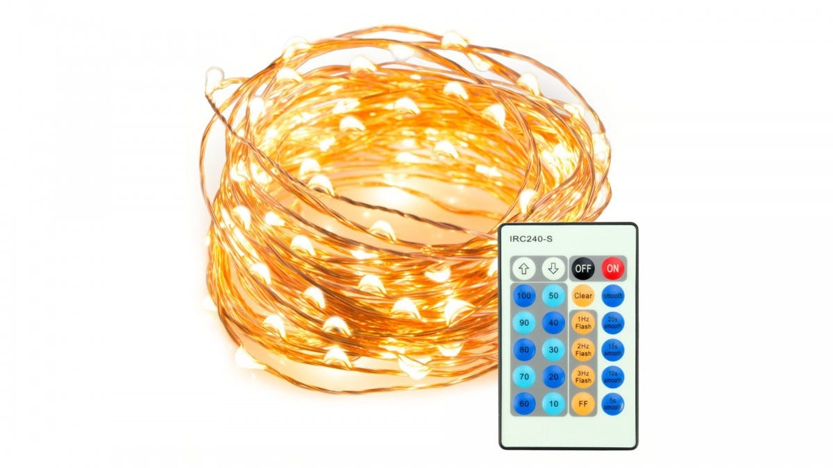 The TaoTronics Remote Controlled String-Lights