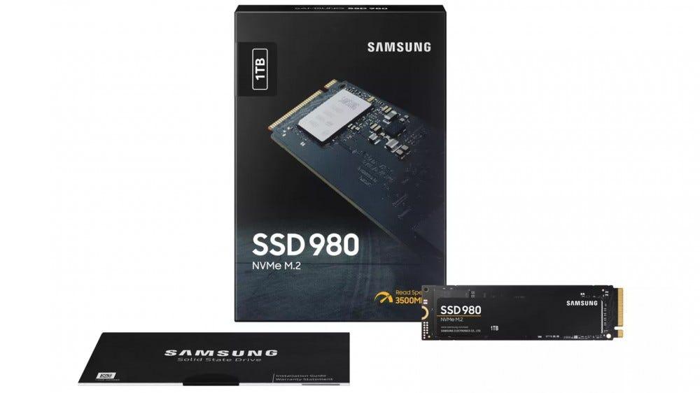 A Samsung új 980 SSD-je