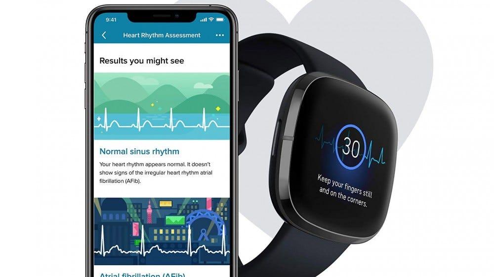 Fitbit sense and phone app