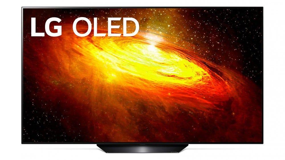 Render of LG's BX OLED TV