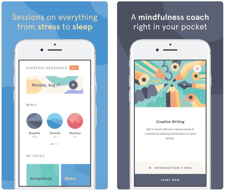 The Best Meditation and Mindfulness Apps For Soothing Your