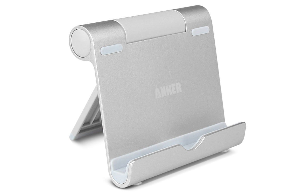 anker, kickstand, tablet stand, ipad stand, portable,