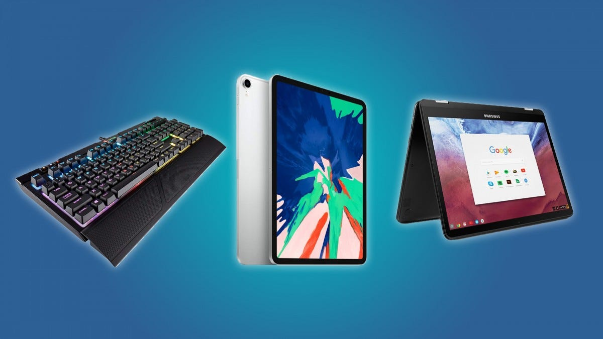 CORSAIR Strafe Keyboard, iPad Pro, Chromebook Pro