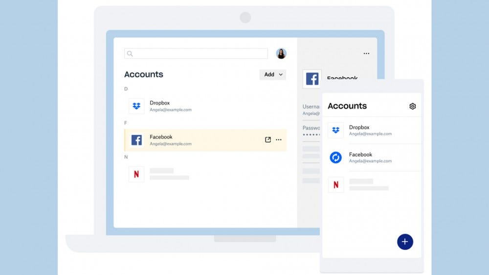 An overview of the Dropbox Password manager
