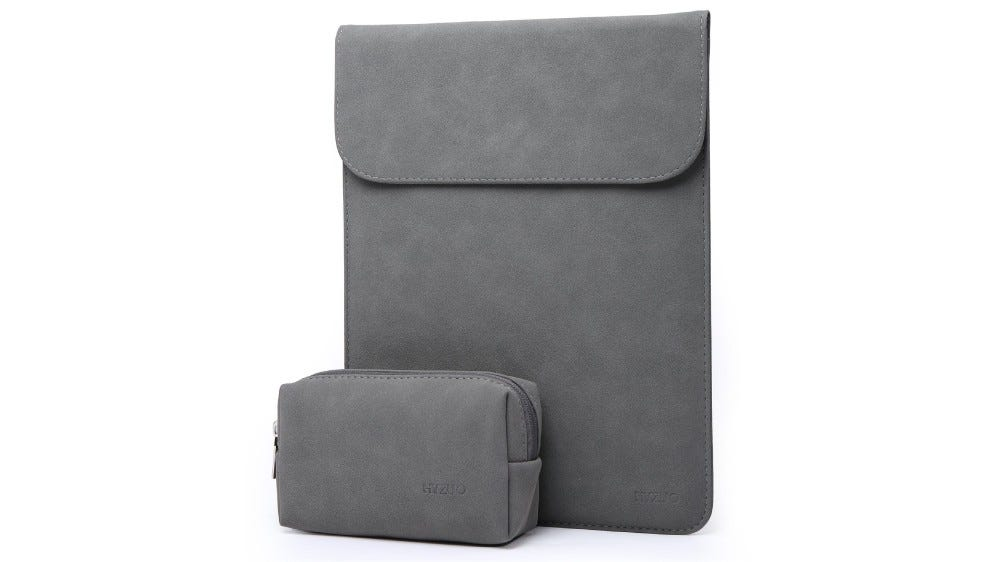 HYZUO leather laptop sleeve