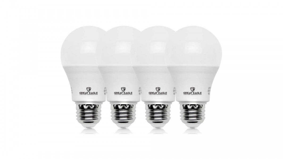 Great Eagle's non-dimmable bulbs