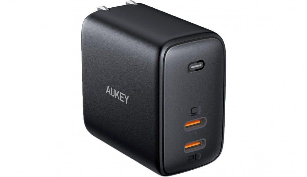 Aukey 65 watt charger