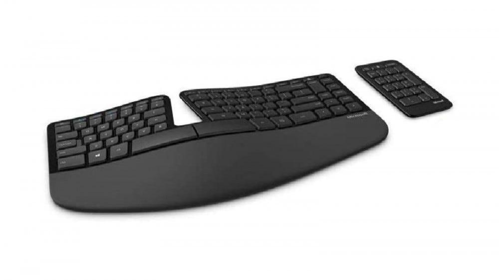 Microsoft Sculpt ergonomikus billentyűzet