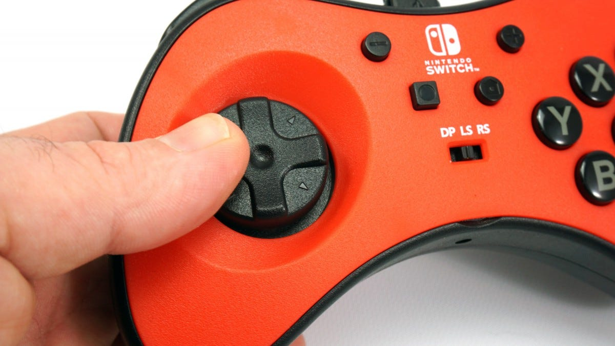 The FightPad's D-pad.