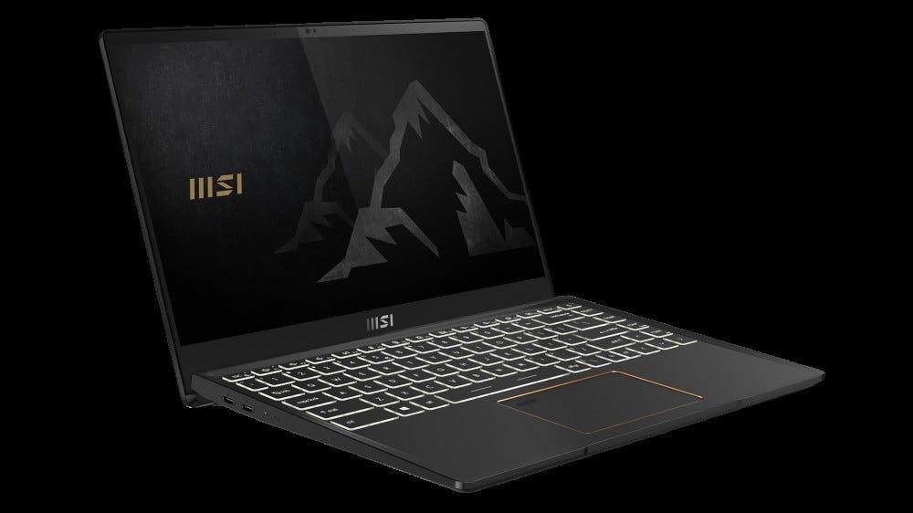 MSI Summit laptop