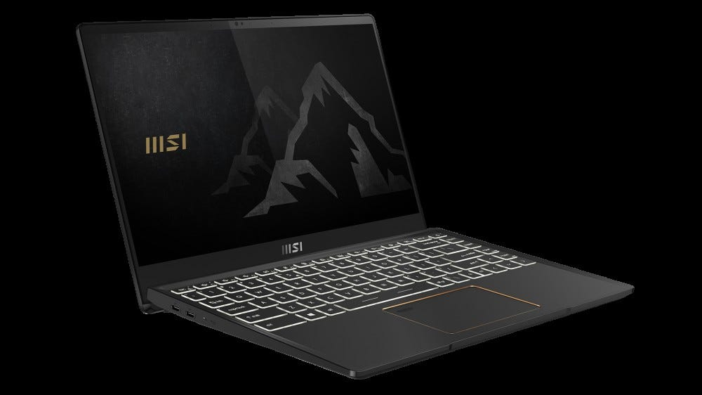 MSI Summit laptop