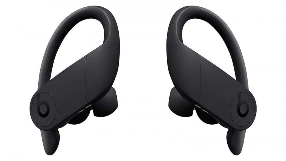PowerBeats Pro earbuds in black