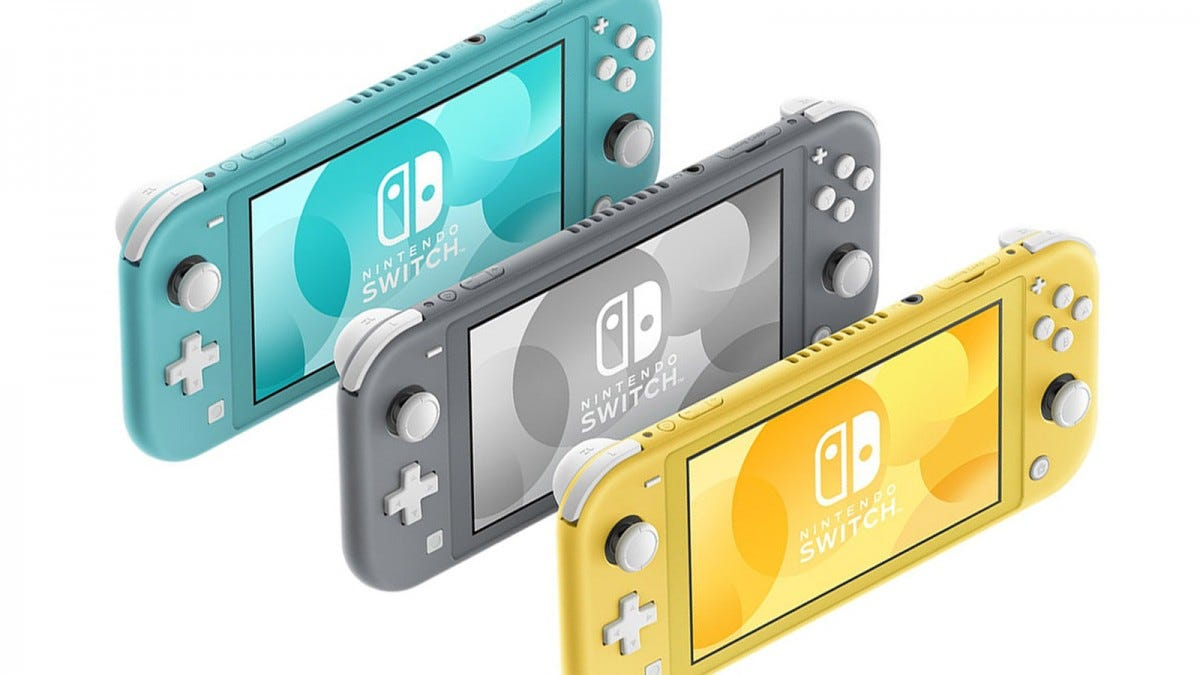 Nintendo's new Switch Lite is a smaller, cheaper version of its smash hit console.