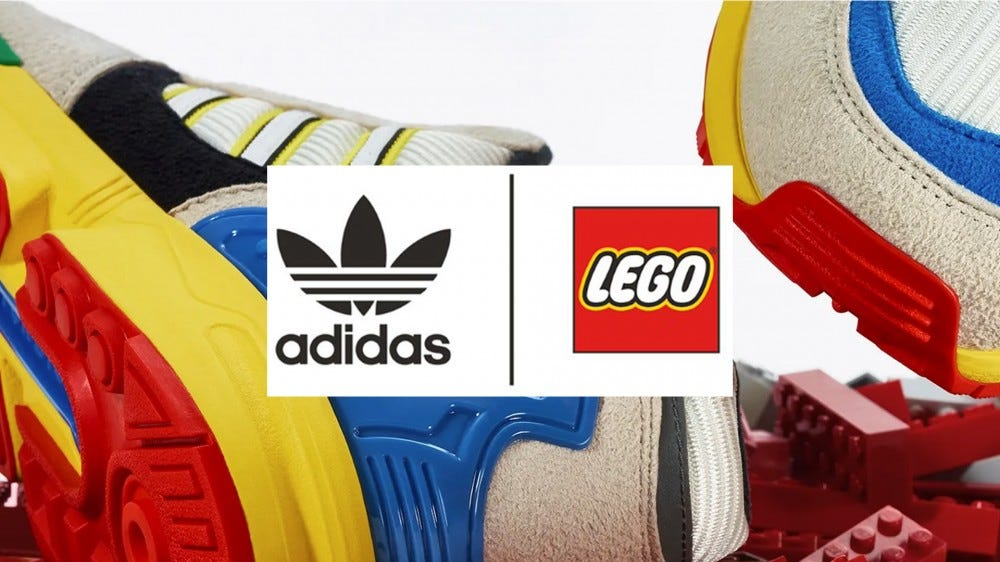 LEGO Adidas ZX 8000 shoe official announcement