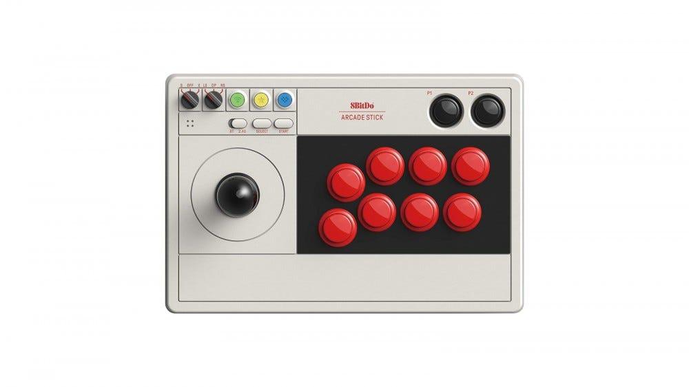 8 Bitdo Arcade Stick controller