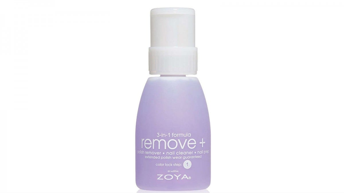 A bottle of Zoya Remove Plus.