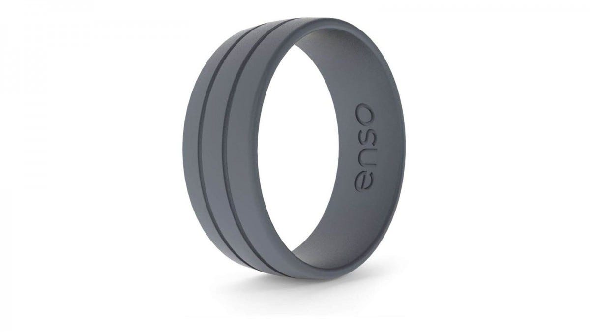 The Enso Ultralite ring in grey.