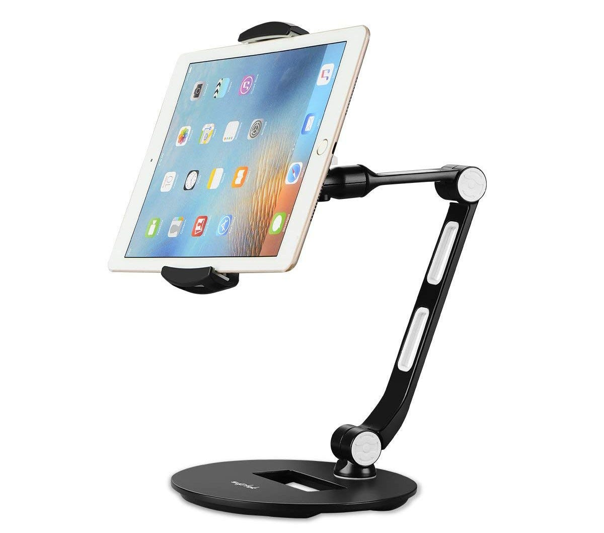 ipad stand, kickstand, tablet stand, articulated,