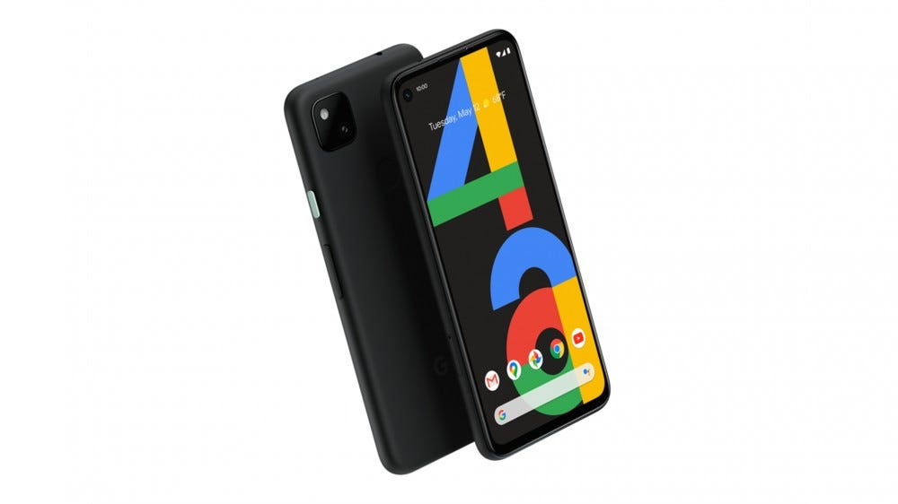 The Google Pixel 4a