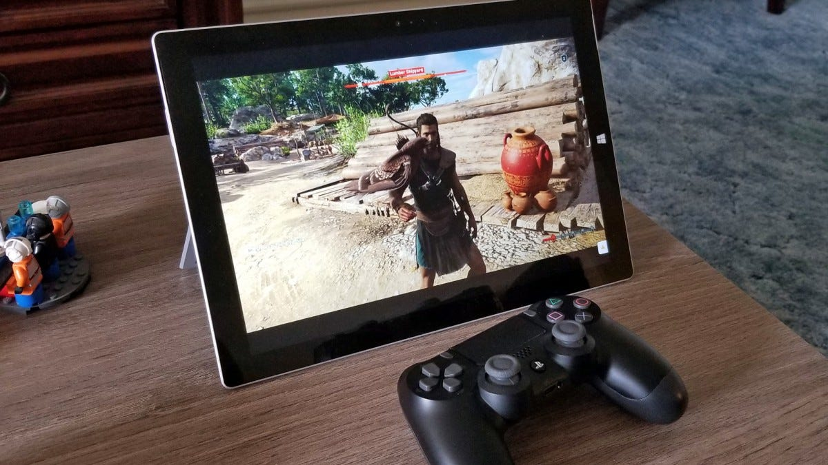 assassin's creed, google, stream, project stream, gaming pc, streaming games