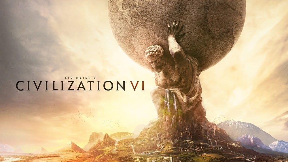 An illustration from the Civilization VI website.