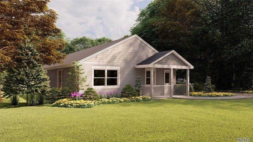 A 3D nyomtatott ház képe