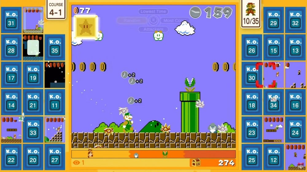 Super Mario 35 screenshot