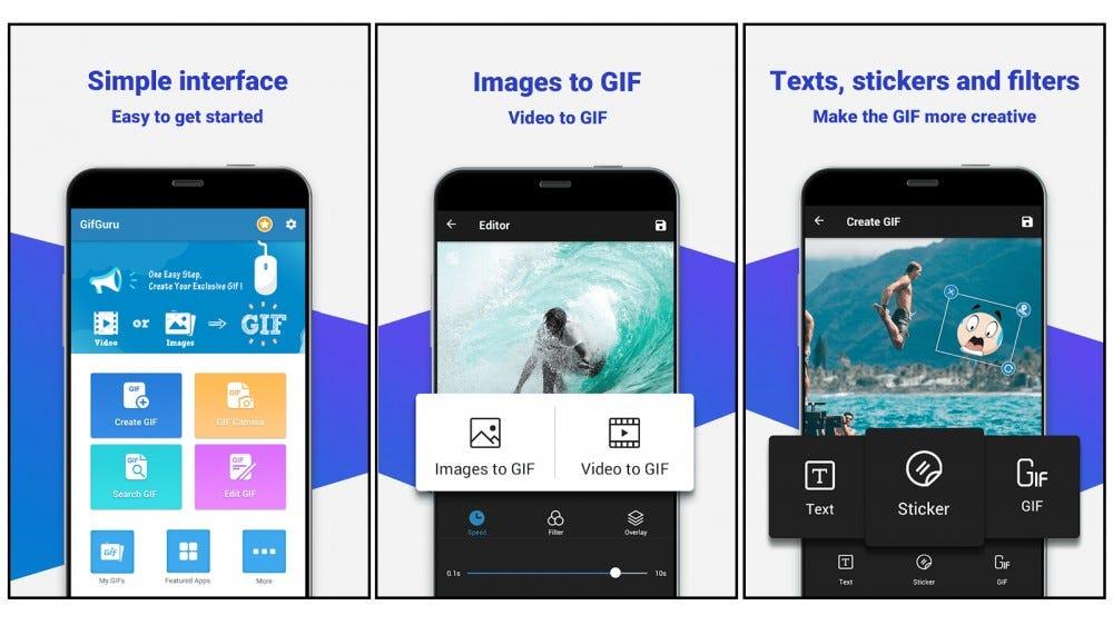 GIFGuru GIF que hace la aplicación