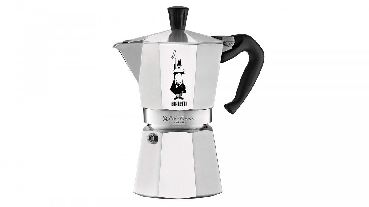 A Moka Coffee Maker