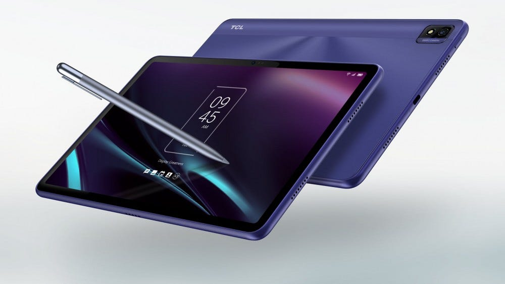 A purple TABMAX tablet