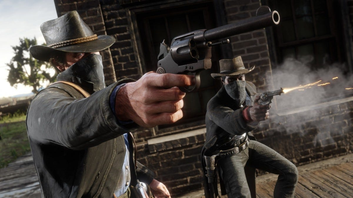 Red Dead Redemption II screenshot