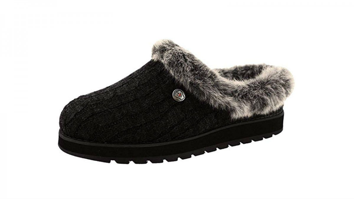 One BOBS from Skechers Women's Keepsakes Ice Angel Slipper.