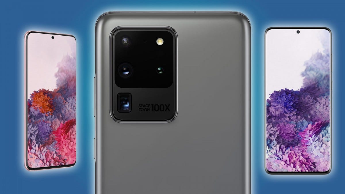 Galaxy S20 models.