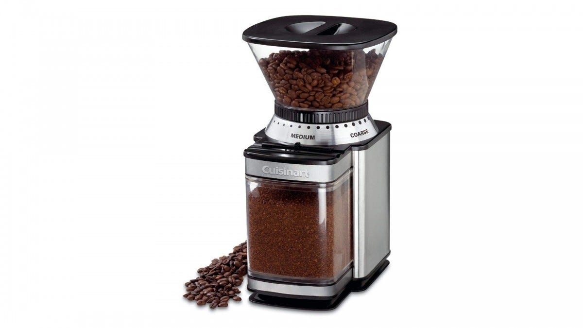 The Cuisinart Burr Grinder