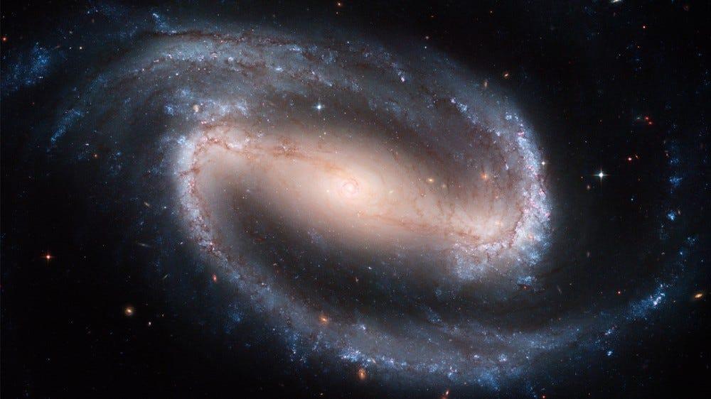Rácsos spirál Galaxy NGC 1300