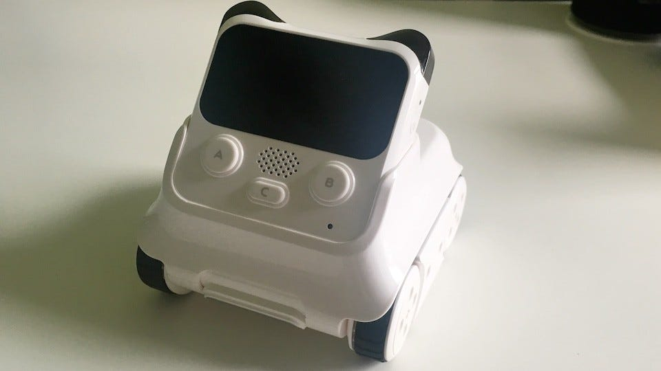Makeblock Codey Rocky Review: A Cute Programmable Robot For