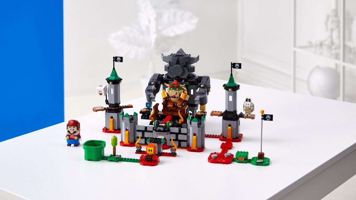 The Bowser's Castle Boss Battle Expansion Set.