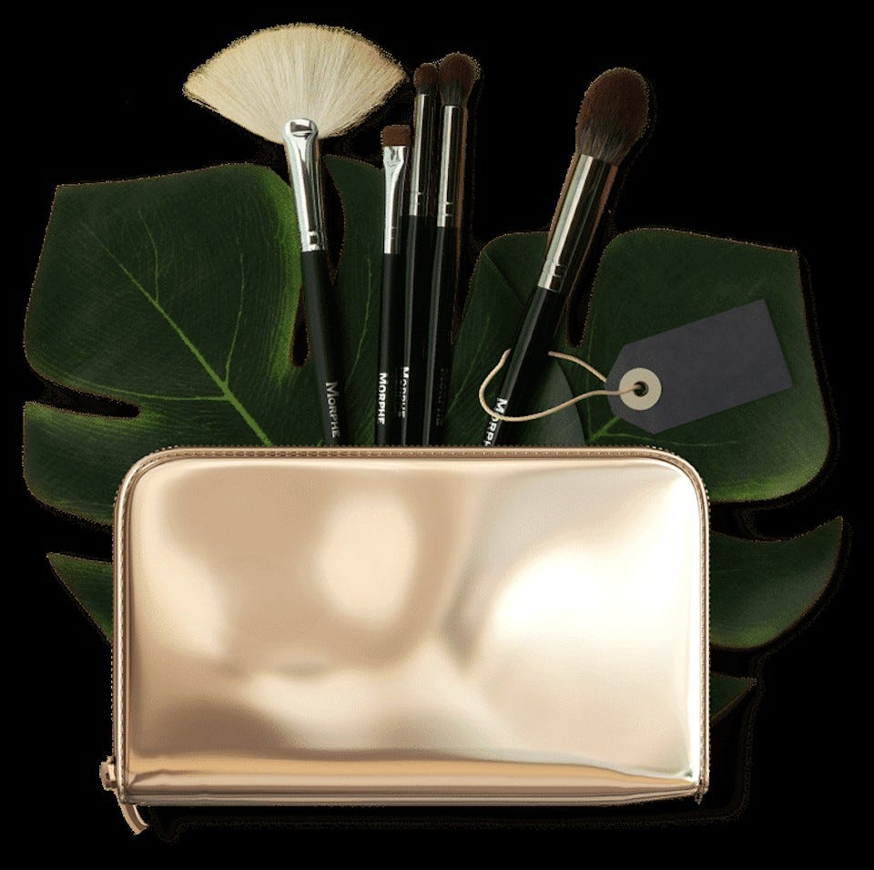 A selection of Liveglam makeup products