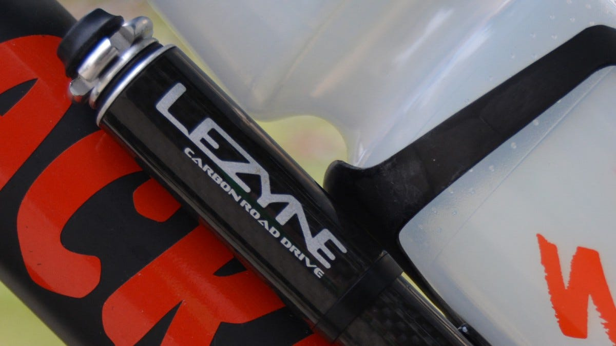 Lezyne Carbon Road Drive mini bike pump
