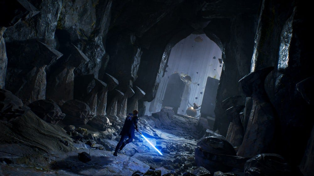 Jedi Fallen Order---Call in a temple