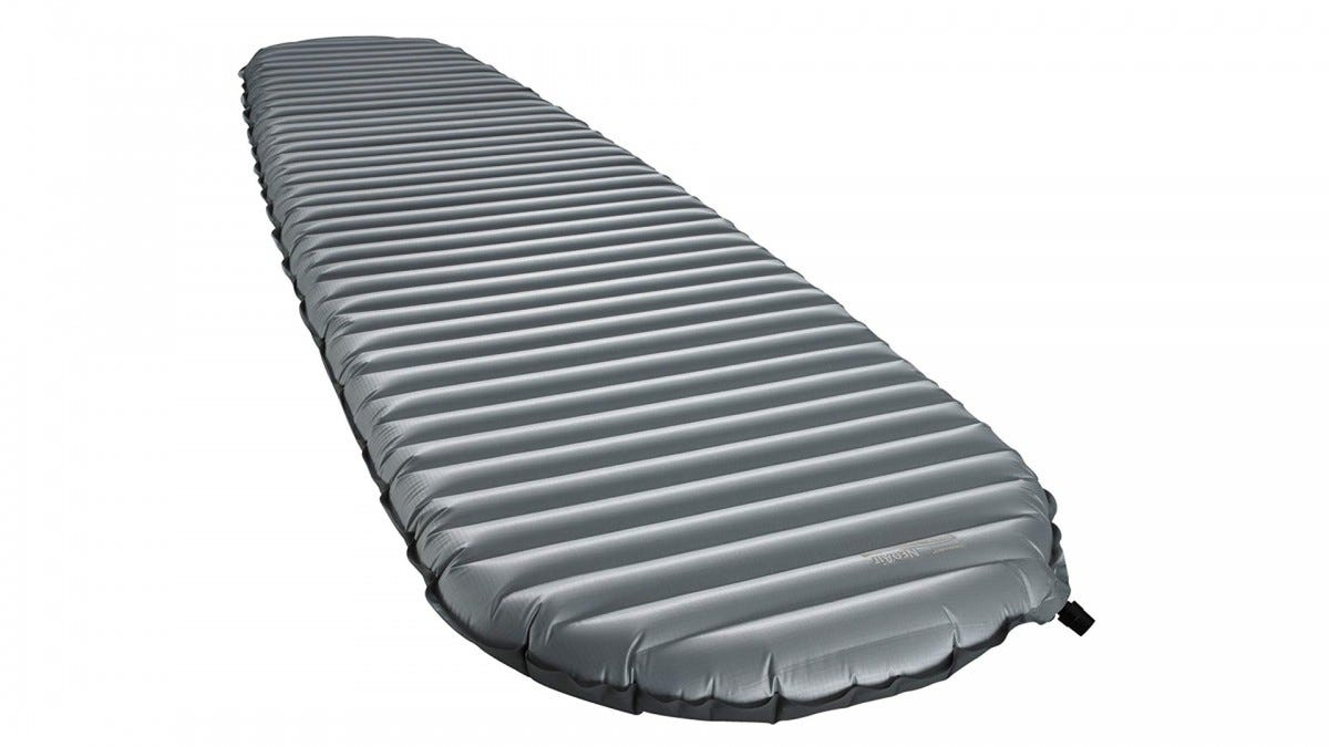 The Therm-a-Rest NeoAir XTherm Ultralight Backpacking Air Mattress.