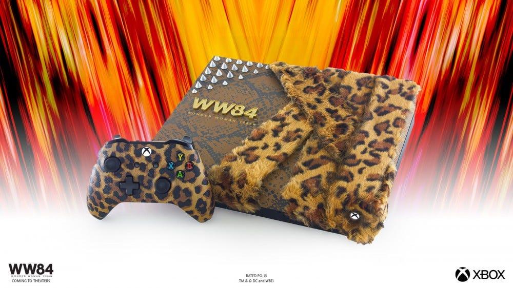 Wonder Woman 1984 Cheetah console