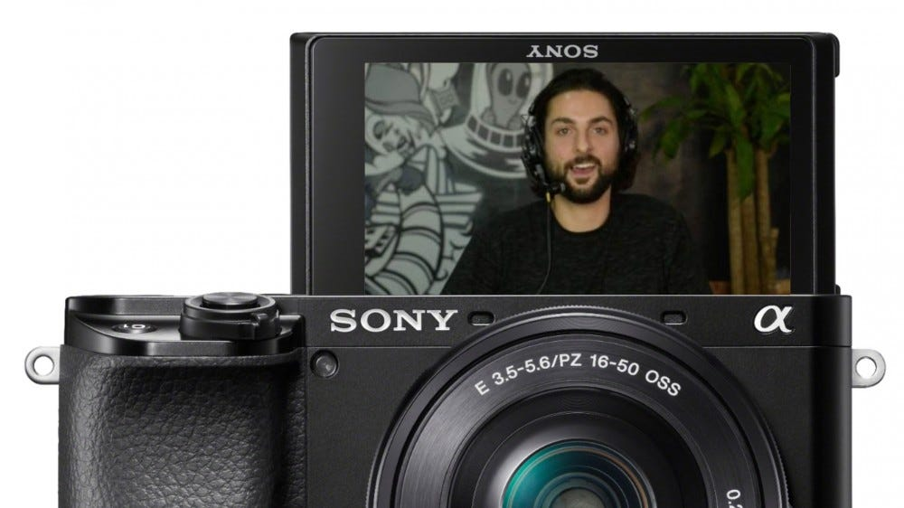 Sony Alpha 6100 webcam